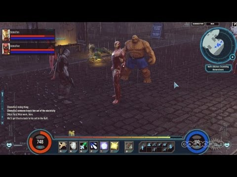 Marvel Heroes – 25 minutes de gameplay (anglais)