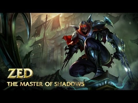 League of Legends – Zed, le maître des ombres