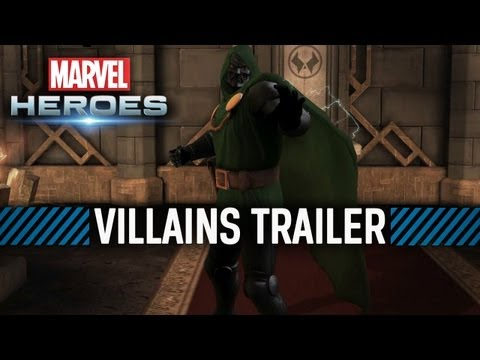 Marvel Heroes – Trailer des super-vilains