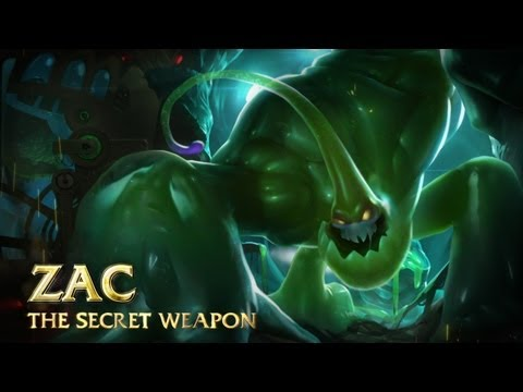 League of Legends – Champion Spotlight de Zac, l'Arme Secrète