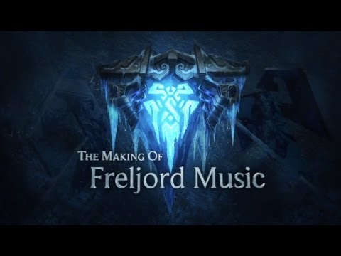 League of Legends &#8211; Making of musique de Freljord