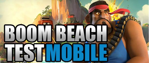 Test de Boom Beach