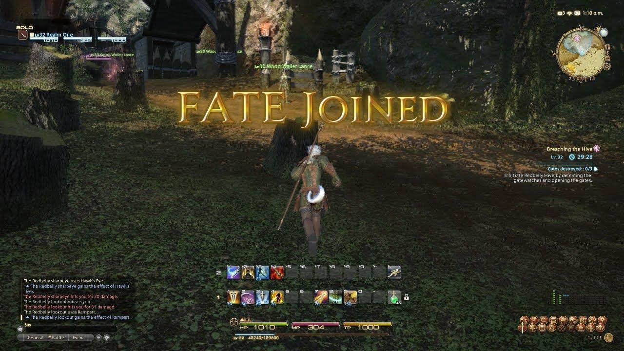 Final Fantasy XIV – Le système des ALEA