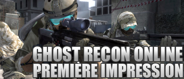 Premiere impresse ghost recon online