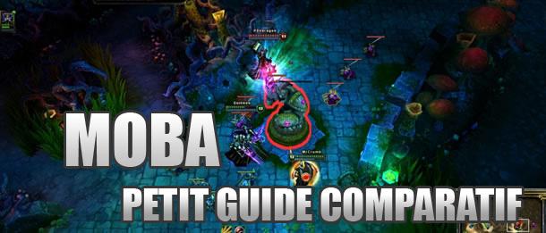 Guide comparatif entre les principaux MOBAs (1ère Partie)