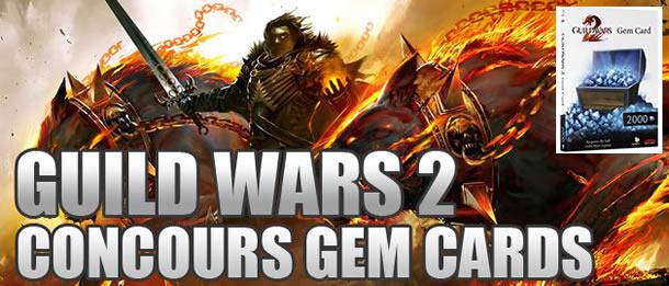 Concours – Gagnez des Gem Cards pour Guild Wars 2