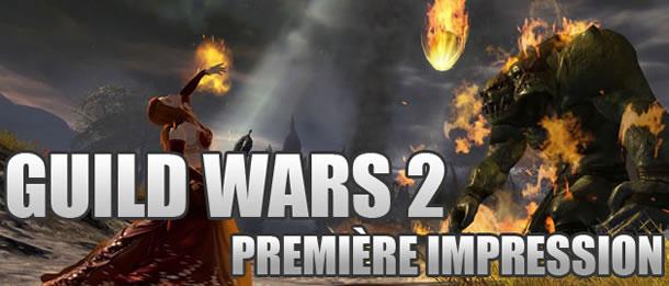 Première impression sur Guild Wars 2