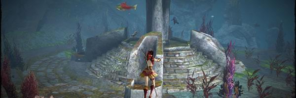 Guild Wars 2 sous l'eau