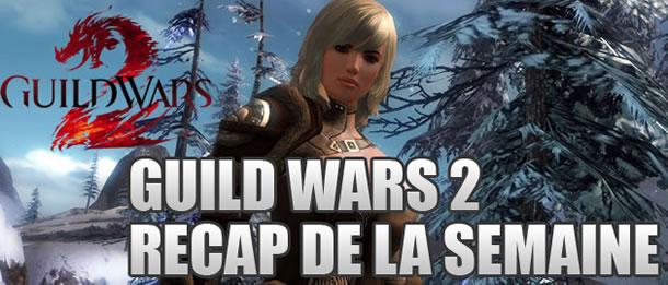 Guild Wars 2 – Récap de la semaine: JcJ, Donjons et démographie
