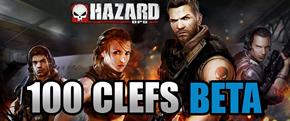 Harzard Ops – 100 clefs pour la beta de ce weekend