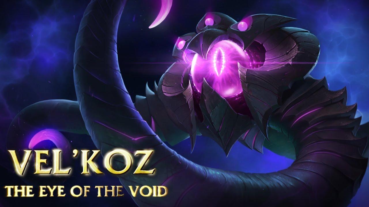 League of Legends – Arrivée de Vel'Koz, Oeil du Néant
