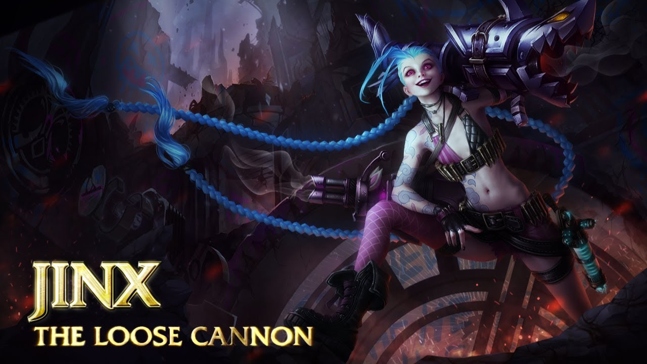 League of Legends – Champion spotlight de Jinx, la Gâchette folle