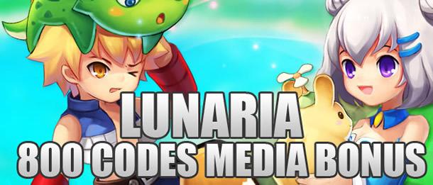 Lunaria – 800 codes media pour tester le jeu