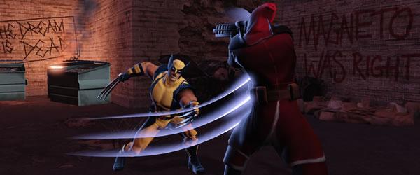 Wolverine dans Marvel heroes