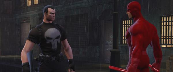 Face à face Marvel heroes