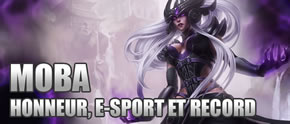 Honneur, E-sport et record.