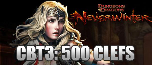 Neverwinter – 500 clés pour le weekend de beta fermée #3 (CBT3)