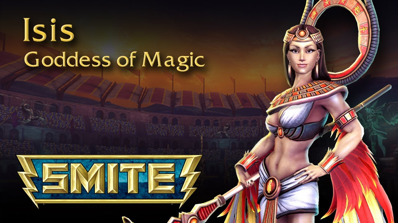 Smite – God Reveal sur Isis