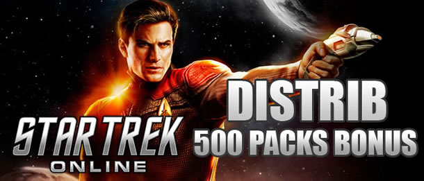 Distribution 500 packs bonus pour STO