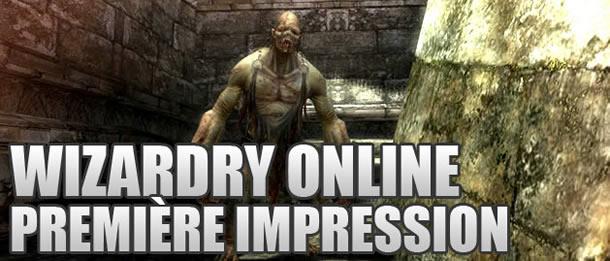 Wizardry Online – Première impression