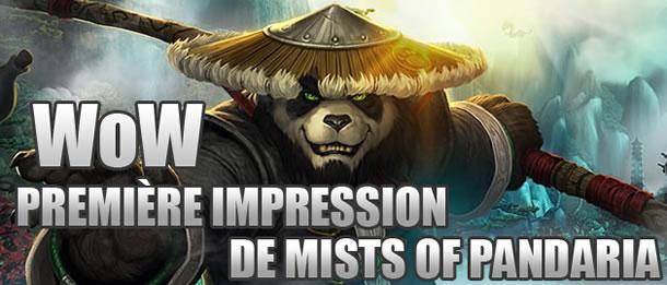 WoW – Première impression de Mists of Pandaria